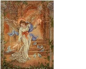 Angel of Light Tapestry Throw in Hollidaysburg, Pennsylvania, Warner's Florist Gifts & Greenhouse