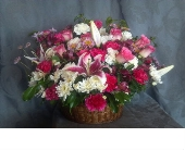 Bountiful Basket of Flowers in Evanston, Illinois, West End Florist & Garden Center Inc.