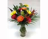 Tropical Vase in Belleville ON, Live, Love and Laugh Flowers, Antiques and Gifts