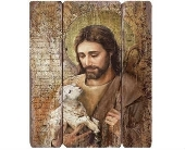 Jesus Decorative Panel in Warren MI, Downing's Flowers & Gifts Inc.