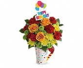 New Berlin Flowers - Teleflora's Fun 'n Festive Bouquet - Barb's Green House Florist