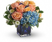 Teleflora's Modern Blush Bouquet in Erie PA, Trost and Steinfurth Florist