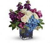 Seattle Flowers - Teleflora's Portrait In Purple Bouquet - Lawrence The Florist