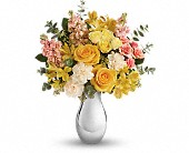 Teleflora's Soft Reflections Bouquet in Edmonton AB, Petals For Less Ltd.