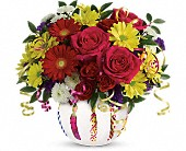 Crystal Lake Flowers - Teleflora's Special Celebration Bouquet - Locker's Flowers, Greenhouse & Gifts