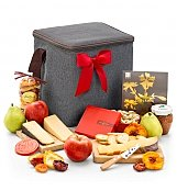 Artisan Fruit and Cheese Hamper - by GiftTree Flowers
