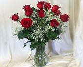 Roses Arranged in Hollidaysburg PA, Warner's Florist Gifts & Greenhouse