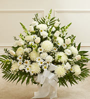 White heaven in Staten Island NY, Buds & Blooms Florist