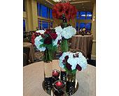Wedding Reception in Quincy, Massachusetts, Fabiano Florist