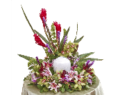 Tropical Fusion Urn in Dallas TX, In Bloom Flowers, Gifts and More