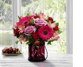 FTD® Pink Exuberance Bouquet by Better H & G in Bristol TN, Pippin Florist