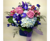 HUES OF BLUE by Rubrums in Ossining NY, Rubrums Florist Ltd.
