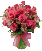 In The Pink Dou in Raleigh NC, Johnson-Paschal Floral Company