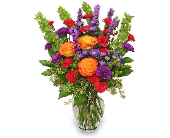 Vibrant Blooms Bouquet in Warren MI, Downing's Flowers & Gifts Inc.