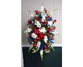Patriotic Standing Spray in Athens, Georgia, Flower & Gift Basket