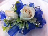 Cobalt Blue Corsage in Mississauga ON, Flowers By Uniquely Yours