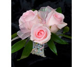 Simple Rose Wristlet in Mississauga ON, Flowers By Uniquely Yours