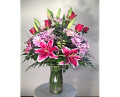 Filer's With Love Mixed Vase Bouquet