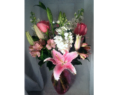 Pretty in Pink in Guilford CT, Guilford White House Florist