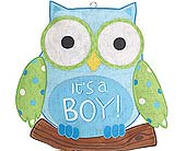 It's A Boy Owl Sign in Smyrna GA, Floral Creations Florist