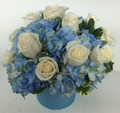 BLUE SKIES by Rubrums in Ossining NY, Rubrums Florist Ltd.