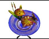 Bird Bath Fountain-Butterfly in Alexandria, Minnesota, Broadway Floral
