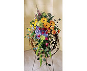 Grapevine Natural Wreath in Chesapeake, Virginia, Greenbrier Florist
