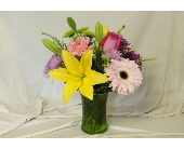 Cheerful Wishes Vase Arrangement in Hollidaysburg PA, Warner's Florist Gifts & Greenhouse