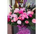 Flowers for Ceremony in Pinks in Burnaby, British Columbia, Lotus Flower & Terra Plants