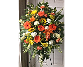 Sunrise Sympathy Spray  in Smyrna GA, Floral Creations Florist