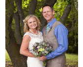Wedding in Perry, Oklahoma, Thorn Originals