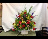 Traditional Funeral Arrangement in Fairfield, Ohio, Novack Schafer Florist