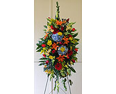 Colorful Compassion Spray in Smyrna GA, Floral Creations Florist