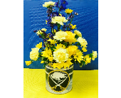Sabres Flower Tin in Depew NY, Elaine's Flower Shoppe