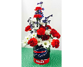 Bills Flower Tin in Depew NY, Elaine's Flower Shoppe