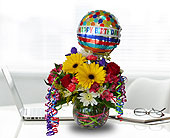 Birthday Party in Dallas TX, In Bloom Flowers, Gifts and More