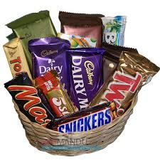 Chocolate Lovers Basket, picture