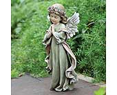 Little Girl Angel Statue in Dallas TX, In Bloom Flowers, Gifts and More