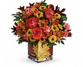Teleflora's Roses And Maples Bouquet