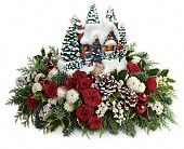Thomas Kinkade's Country Christmas Homecoming in Dawson Creek, British Columbia, Enchanted Florist