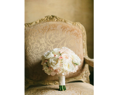 Bridal bq. in blush tones in Sarasota, Florida, Flowers By Fudgie On Siesta Key