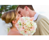 Pink mini calla lilies with roses in Sarasota, Florida, Flowers By Fudgie On Siesta Key