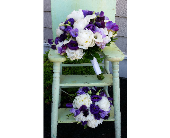 Purple and White Mix with Peonies in Hilliard, Ohio, Hilliard Floral Design