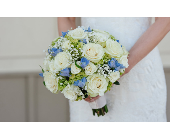 Ivory, Blue and Green Mix  in Hilliard, Ohio, Hilliard Floral Design