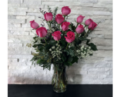 Pink Executive Roses in Ft. Collins CO, Palmer Flowers