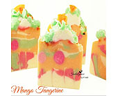 Mango Tangerine Soap Slice by S.V. Soaps in Ammon ID, Petal Passion