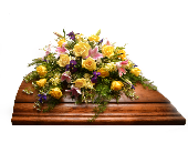Remembrance Casket Spray in Ft. Collins CO, Palmer Flowers