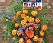 Funeral Collegian in Birmingham, Alabama, Continental Florist