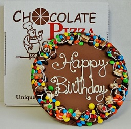 Chocolate Happy Birthday Pizza in Perrysburg & Toledo OH  OH, Ken's Flower Shops