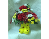 Las Vegas Flowers - The Rain Boots  - A Flower Fair